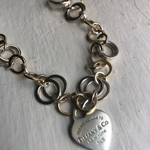 Tiffany Co Jewelry Vintage Tiffany Co Gold Silver Bracelet Poshmark